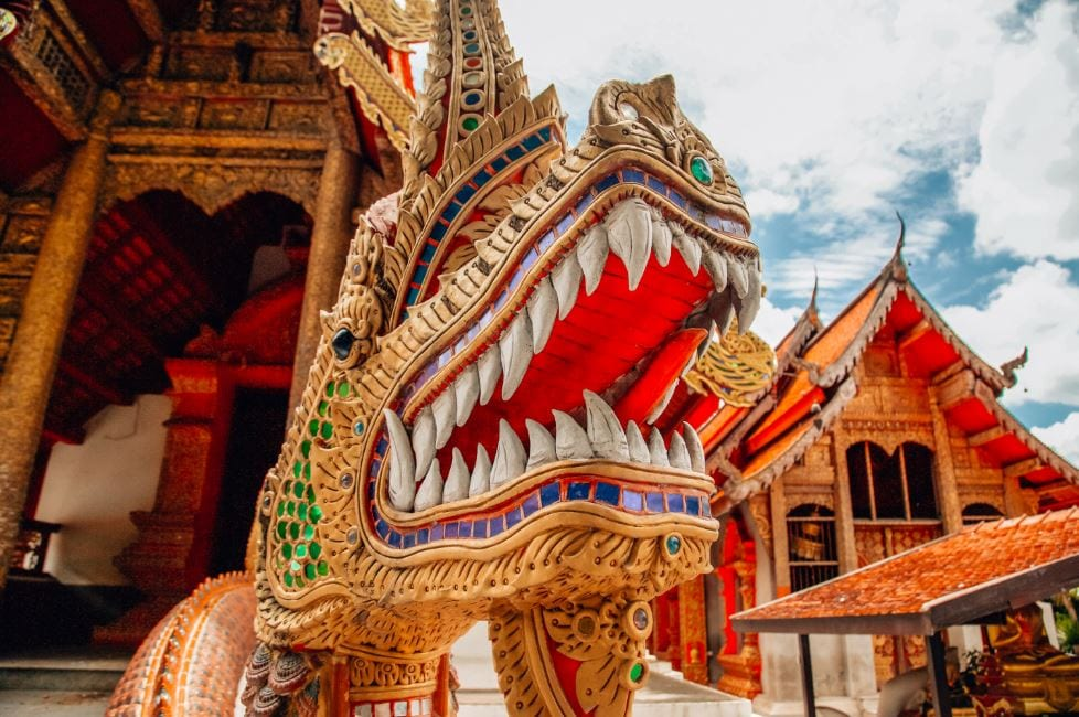 Temple Hopping a top thing to do in Chiang Mai Thailand