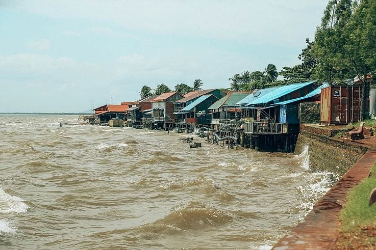 A view of Kep Cambodia