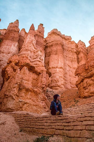 The hoodoos of Bryce Canyon National Park with I'm Jess Traveling
