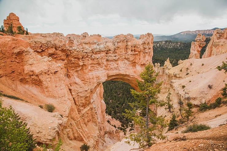 Natural Bridge in Bryce Canyon National Park