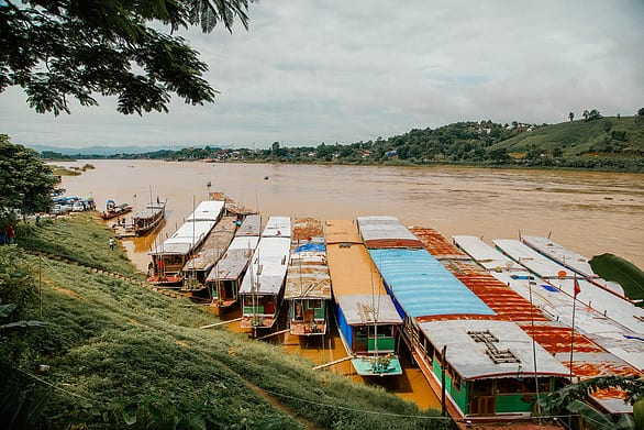 Catching the Slow Boat from Thailand to Laos
