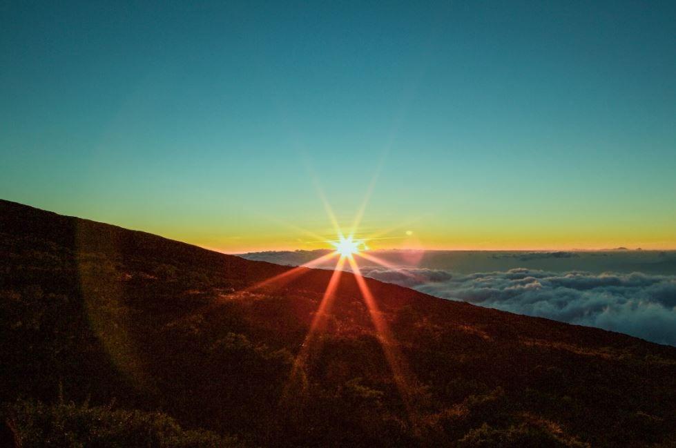 Sunset on Haleakala