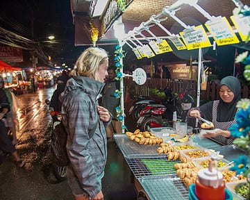 All the fun foods at Pai Thailands Night Market