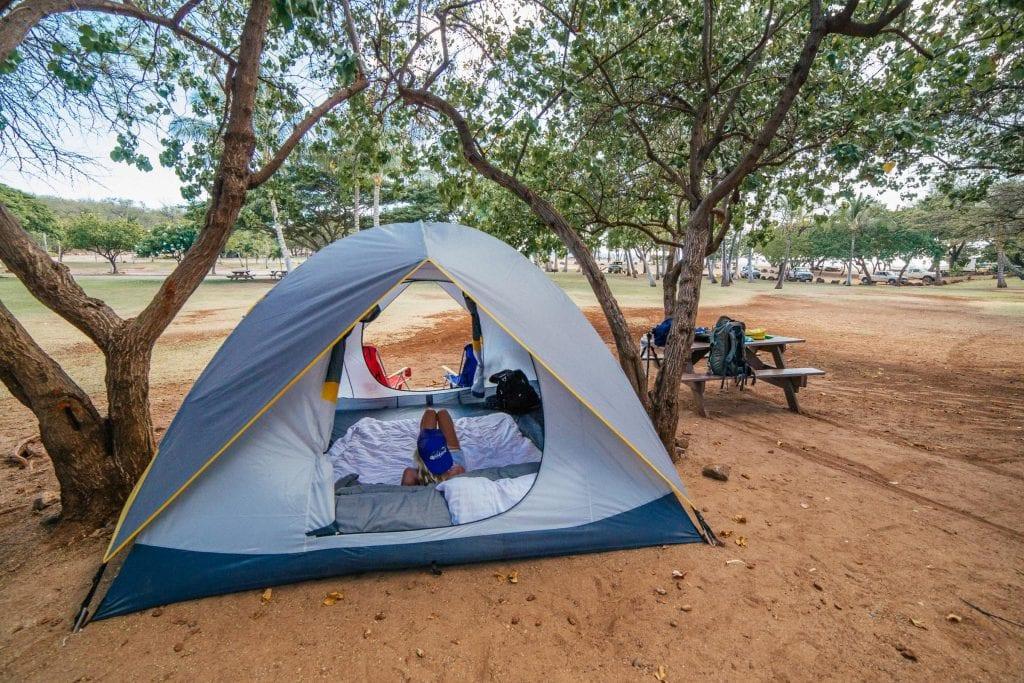 Camping Hawaii