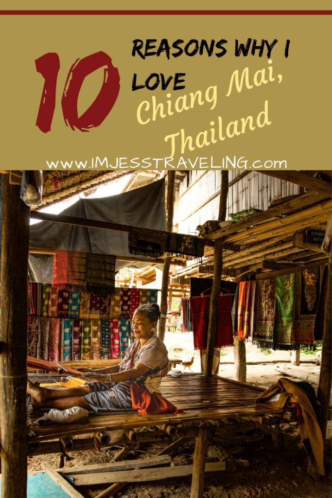 Things to see in Chiang Mai Thailand. And reasons why I love this city with I'm Jess Traveling