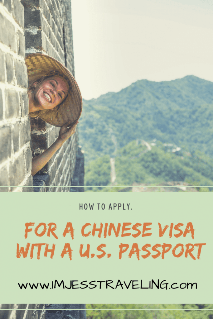 How to Apply for a Chinese Visa with a U.S. Passport