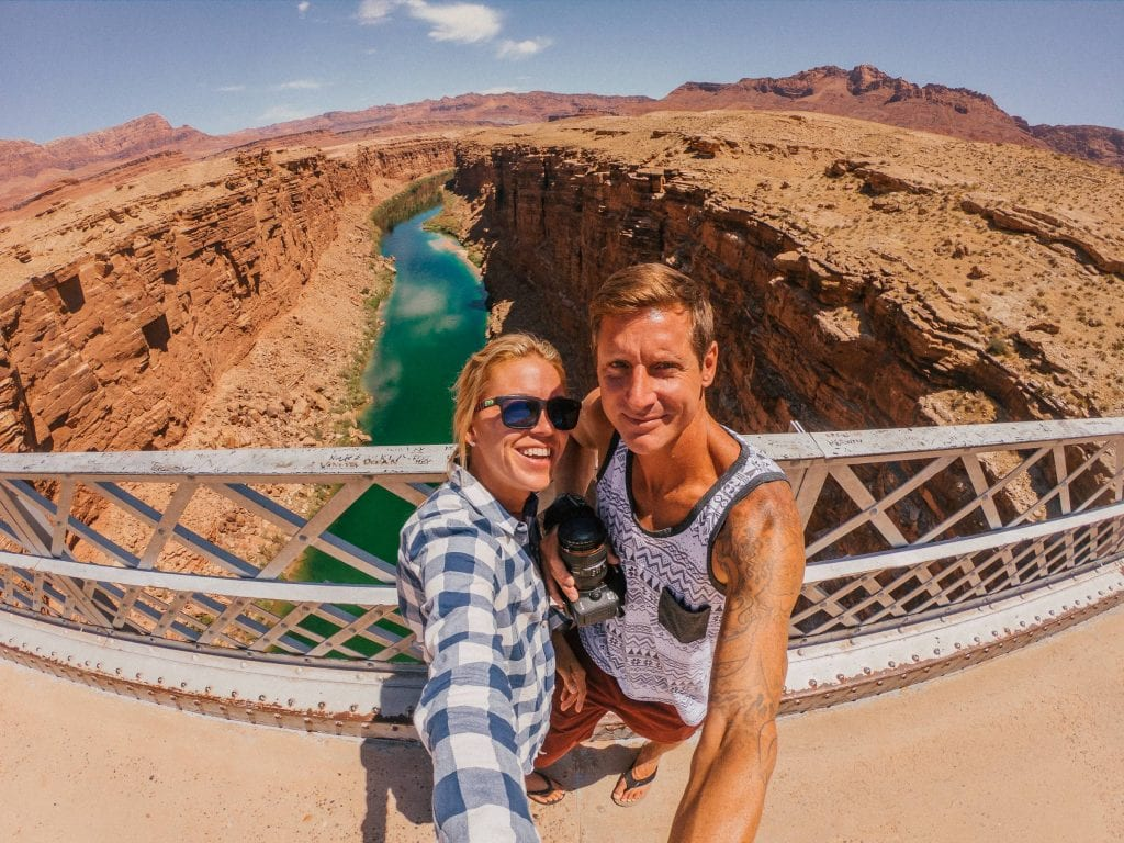 Marble Canyon on a southern Utah Road Trip