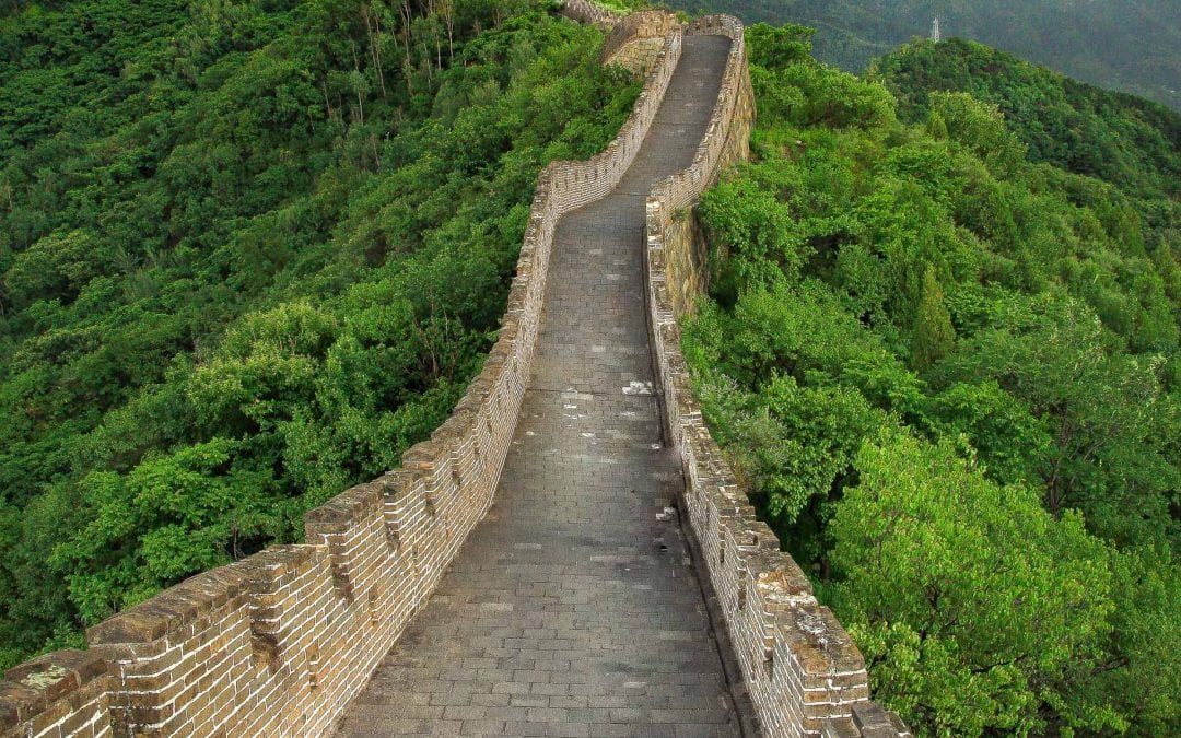 The Great Wall of China Without Crowds