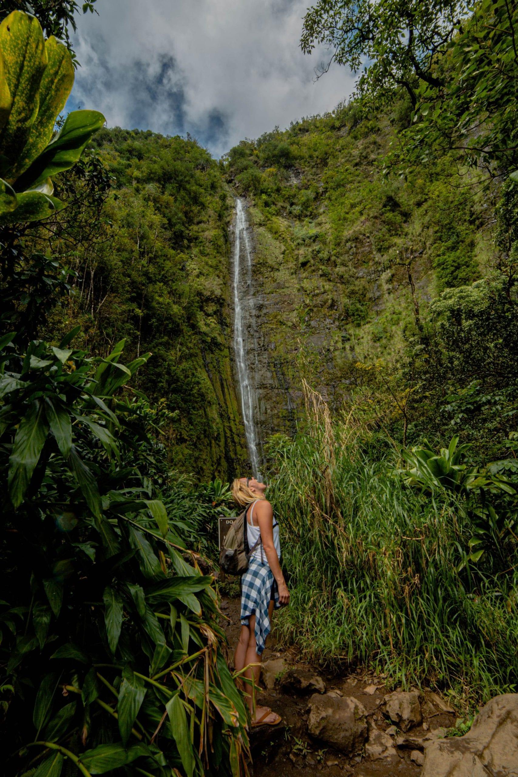 Pipiwai Trail in Hana HI