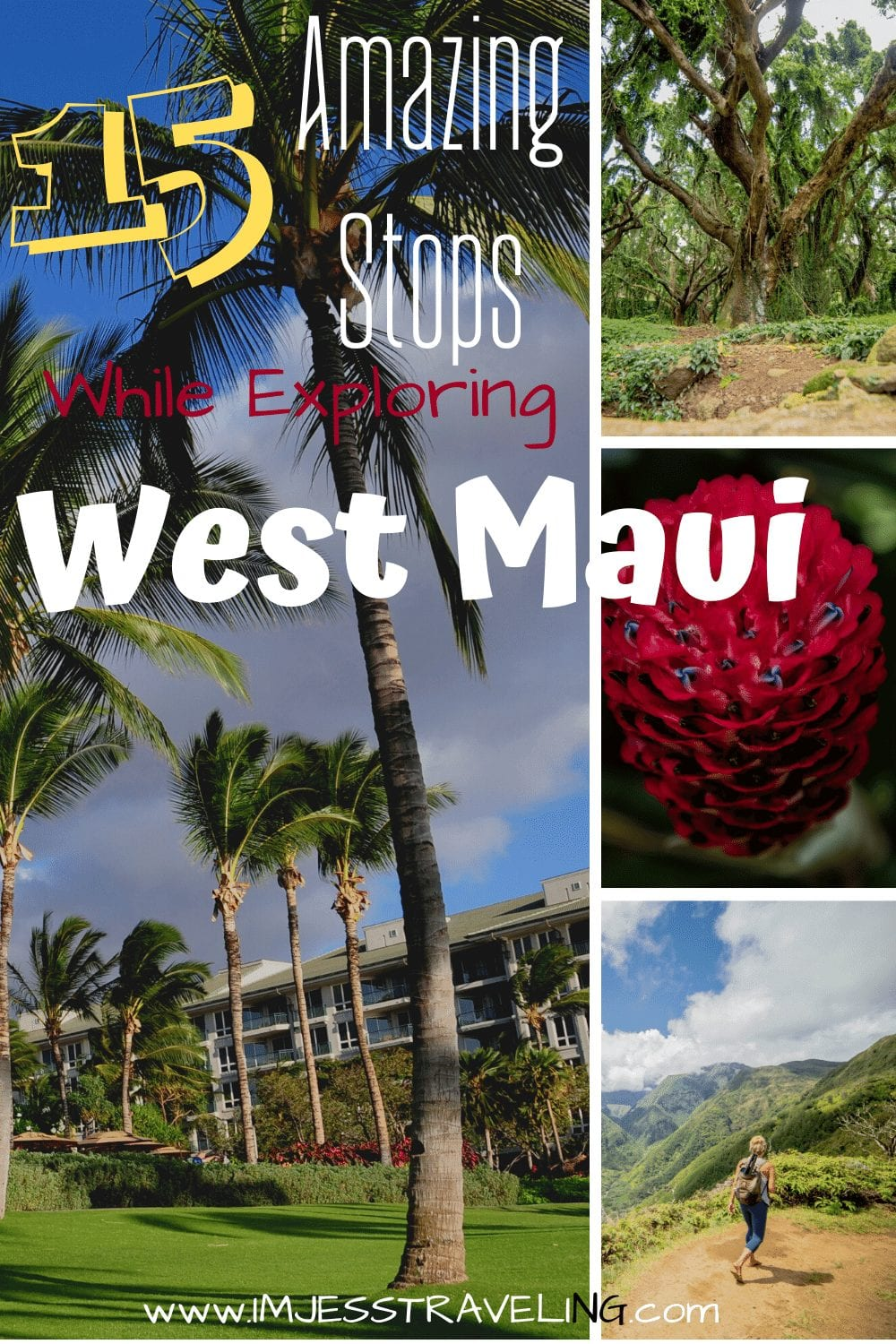 Must do stops while driving West Maui with I'm Jess Traveling