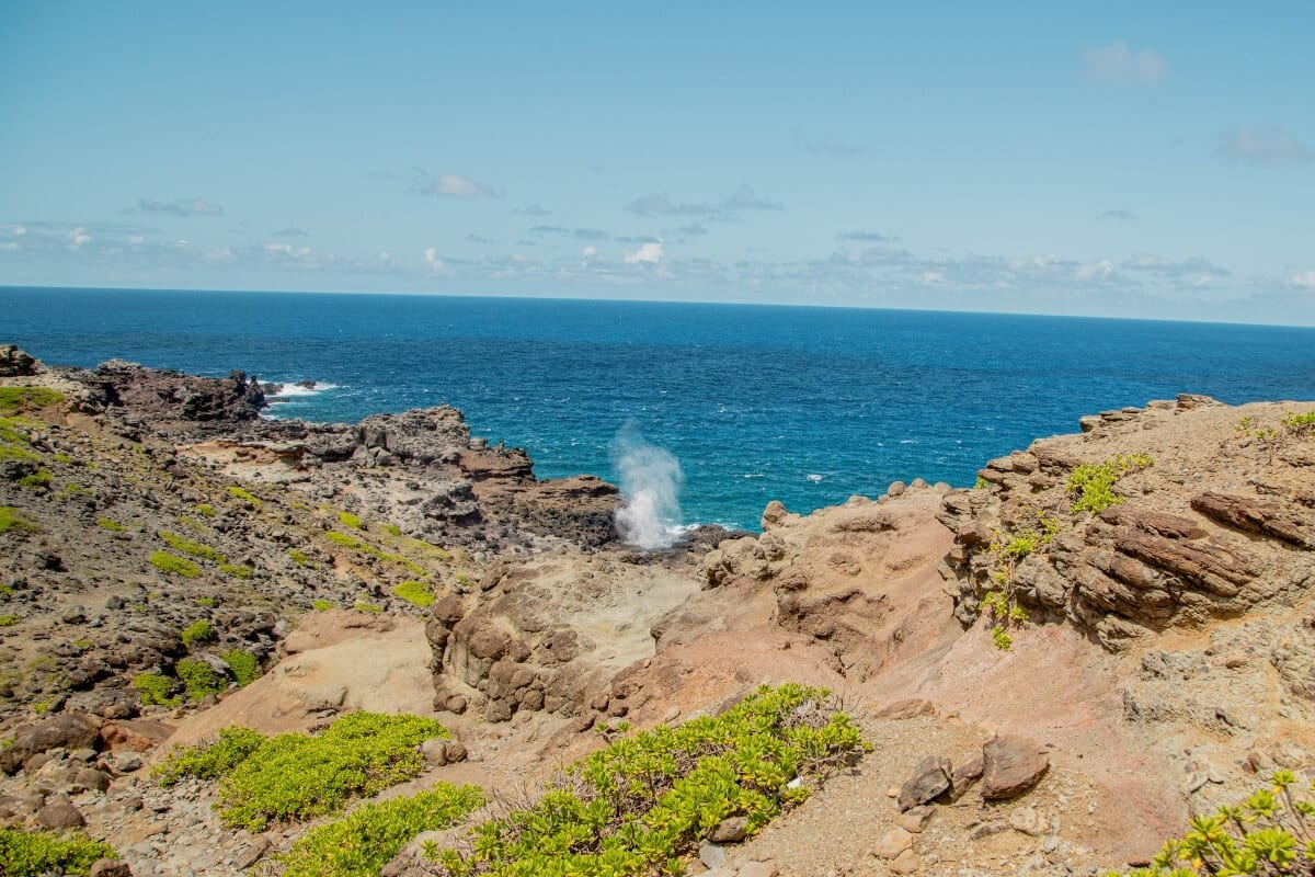 Blow Hole in West Maui