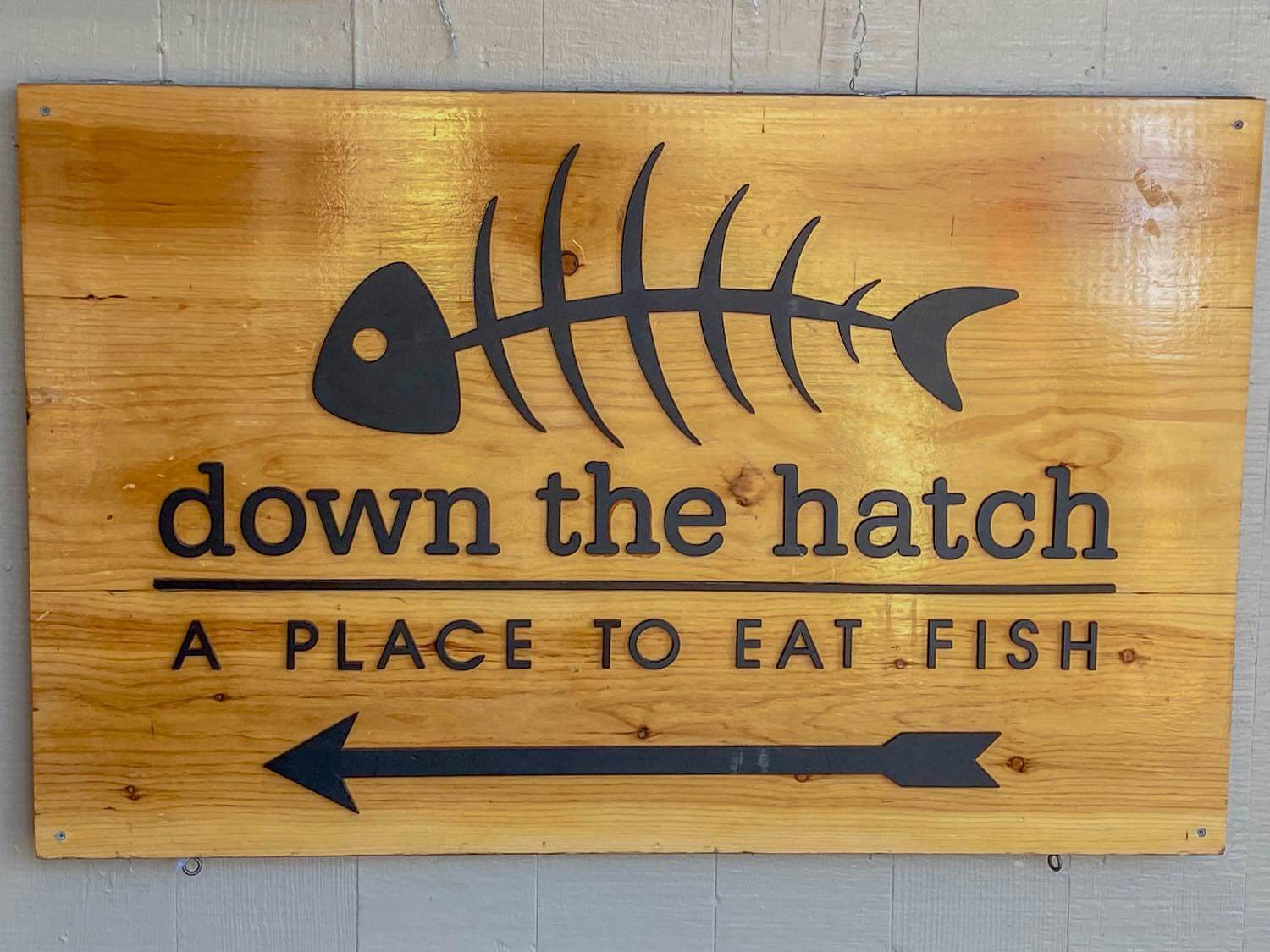 Down the Hatch restaurant in Lahaina, Maui