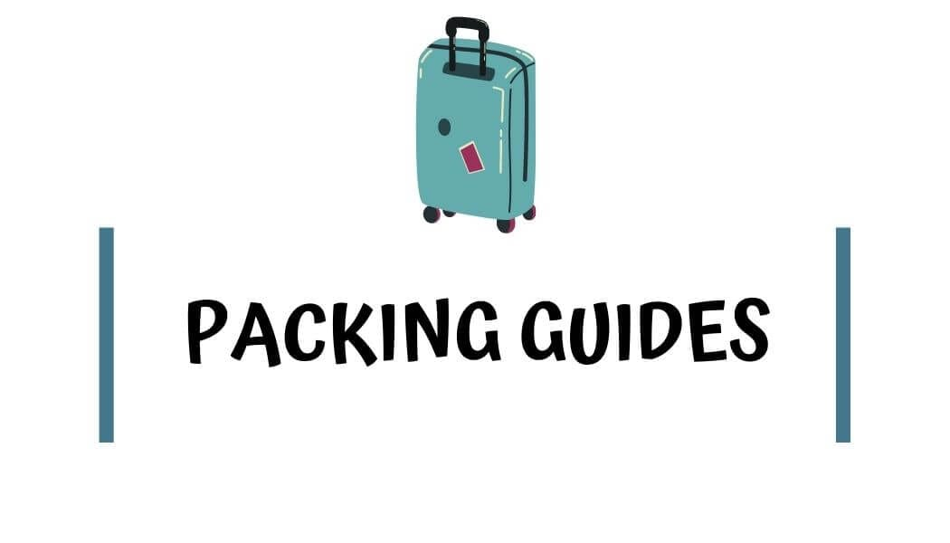 Packing Guides with I'm Jess Traveling