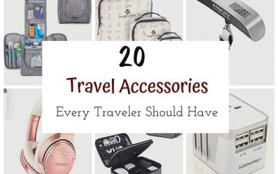 Travel Accessories Every Traveler Should Have