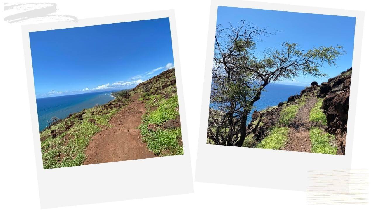 Hiking the Lahaina Pali Maui
