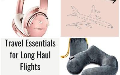 Long Haul Flight Essentials Every Traveler Must Have