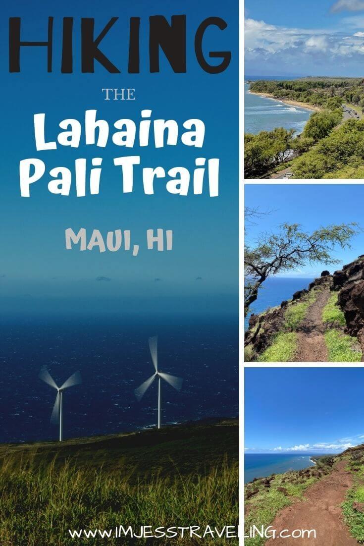 Hiking the Lahaina Pali, Maui Hawaii