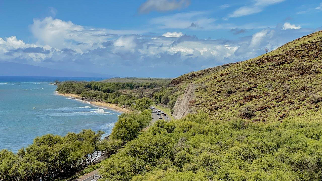 Outlook on the Pali Hike